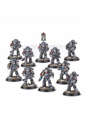 New on Sprue - 10 X MK3 Space Marines - Warhammer 30k/40k - Burning of Prospero