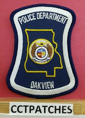 OAKVIEW, MISSOURI POLICE SHOULDER PATCH MO