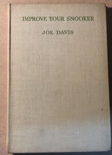 Improve Your Snooker : Joe Davis , 1946