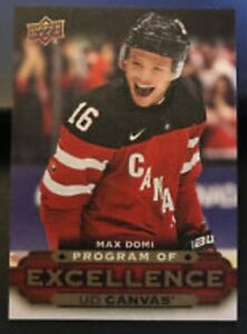 MAX DOMI 15-16 UD PROGRAM OF EXCELLENCE ROOKIE CARD