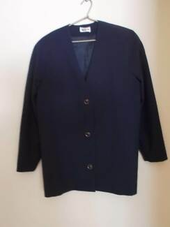 Ladies navy suits and tops