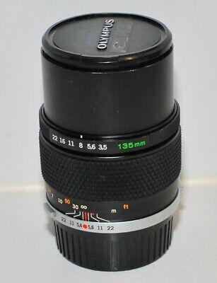 Olympus OM 135mm f/3,5; prime lens