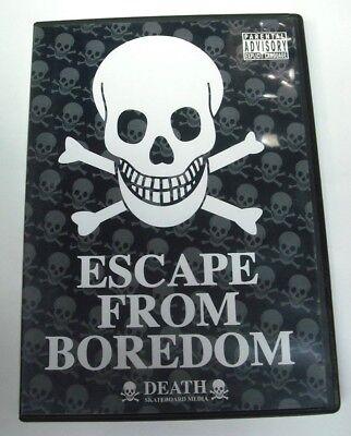 Death ESCAPE FROM BORDOM Skateboard DVD 2005 Skateboarding Video