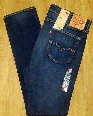 NWT LEVI'S 510 Sz 38X34 Scraggy Fit Men's Trousers Pants Denim Jeans!