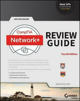 Comptia Network+ Review Guide: Exam N10-007 by Jon Buhagiar (English) Paperback  Comptia Network+ Review Guide