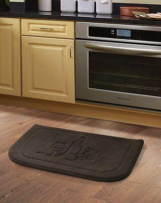 Classic Anti Fatigue Mats (Brown Wine Memory Foam Anti Fatigue Kitchen Floor Mat Rug Victoria Classics )