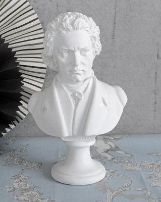 Beethoven Büste Komponisten Skulptur Klavier Figur Ludwig van Beethoven Kopf neu