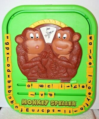 LEARNING MATES MONKEY SPELLER THE FUN WAY TO LEARN SIMPLE SPELLING EUC