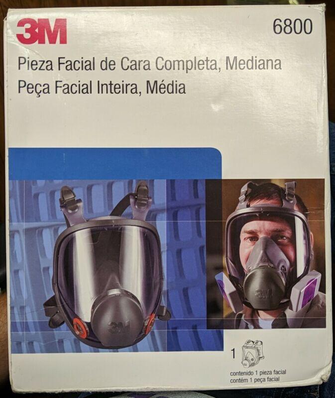 3M Full Facepiece Reusable Respirator 6800 - Medium - New Open!!!