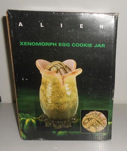 Alien Xenomorph Egg Cookie Jar with Original Box
