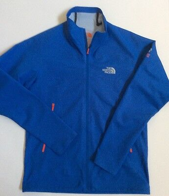 North Face Men's Monster Blue Summit series Exodus alpine & rock climbing jacket