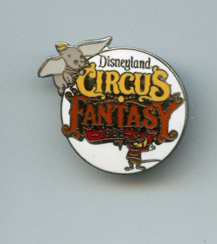 1986 Disney Disneyland Circus Fantasy Dumbo Elephant & Timothy Mouse Pin