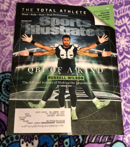 Sports Illustrated Magazine September 2020 Russell Wilson Q B 1 OF A KIND - $4.00