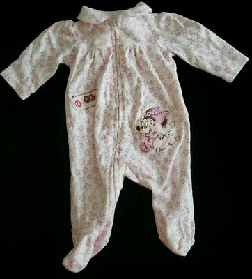 Disney Store Minnie Mouse Baby Sleeper Outfit Size 0 3 Months New](Minnie Mouse Outfit Baby)