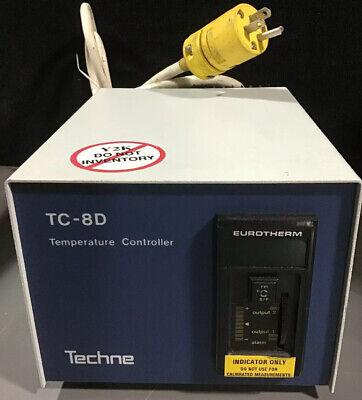Eurotherm Techne Model Tc-8d Temperature Controller