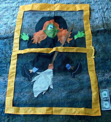 Halloween Appeso 107cmX68.6cm Wicked Strega Spettrale Retina Splatter Party