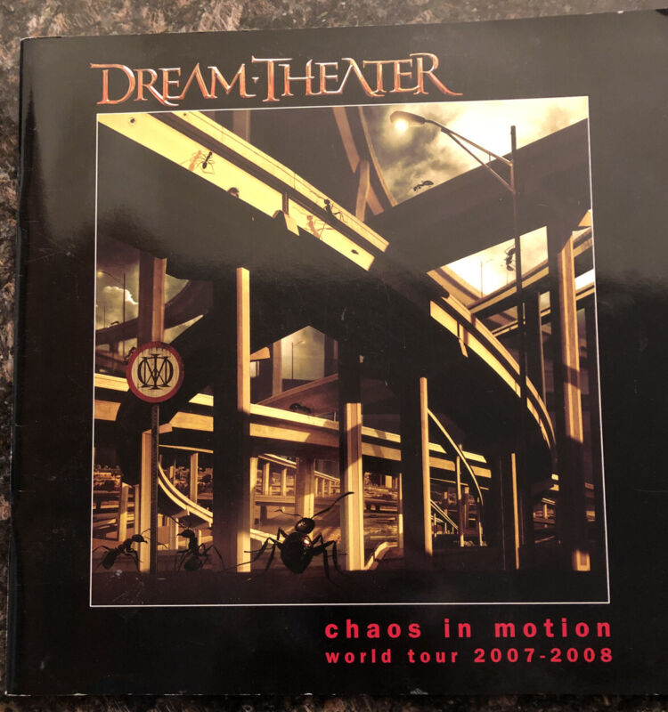 Dream Theater/  2007-2008 CHAOS IN MOTION WORLD TOUR  PROGRAM