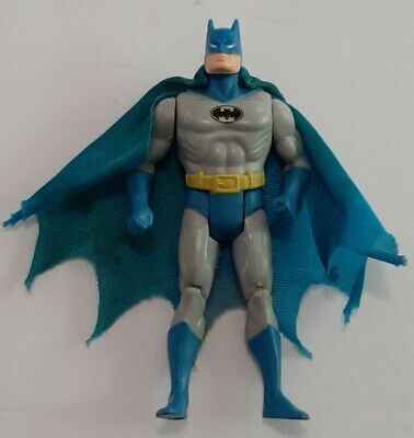 KENNER DC Comics Super Powers Batman Figure w/ Original Blue Cape~1984