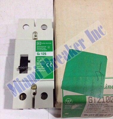 Gi2100 Cutler Hammer Circuit Breaker 2 Pole 100 Amp 600v New In Box