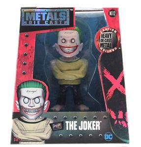 "Jada Toys 4"" Suicide Squad Metals Diecast Figure The Joker Arkham Version 97944"