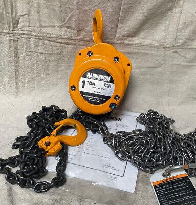Tools & Home Improvement Hoists Harrington CF015-10 Chain Fall ...