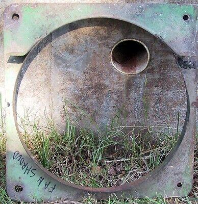 John Deere Unstyled B Tractor Radiator Fan Shroud