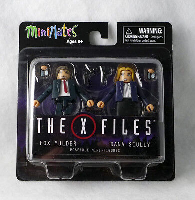 The X-Files Mulder & Scully Minimates 2-Pack NEW in Box UNOPENED Collectible