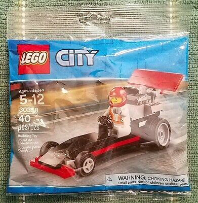 Lego 30358 City Dragster Promo Brand New Sealed Polybag