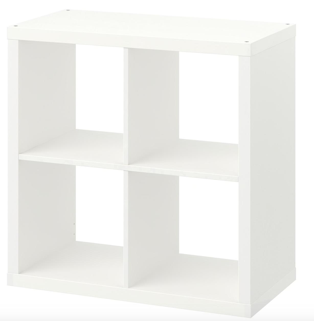 Ikea Kallax Regal Weiss 77 X 77 X 39cm Bucherregal