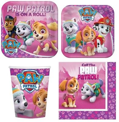 paw patrol girl party supplies express pack