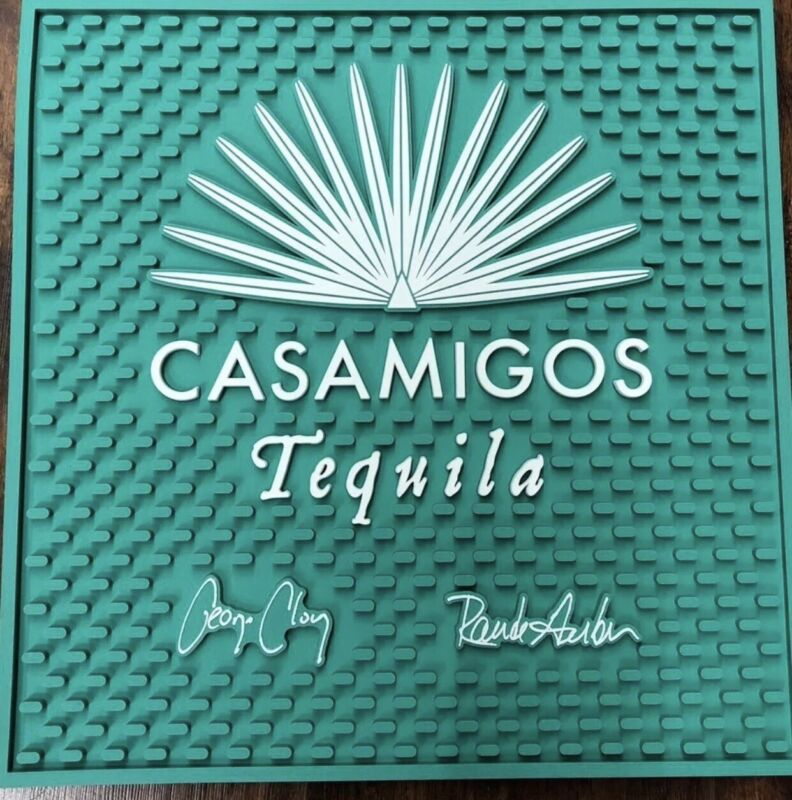 CASAMIGOS TEQUILA BEER BAR SPILL MAT RAIL RUNNER NEW Free shipping New.