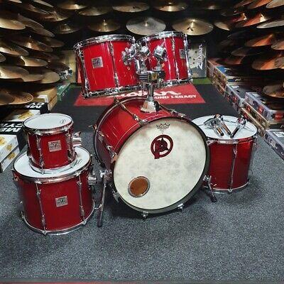 Yamaha Power V Drum Kit, Red Marble USED! RKYAM130120