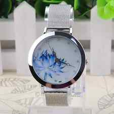 STEEL MESH STRAP UNIQUE STYLE HOT SELLING WOMEN'S WRIST WATCH