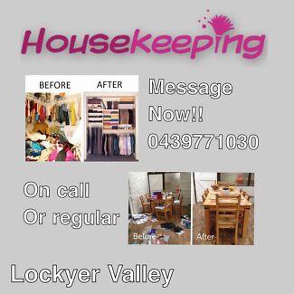 Housekeeping Spring Cleaning Organising Helping Hand Cooking Etc