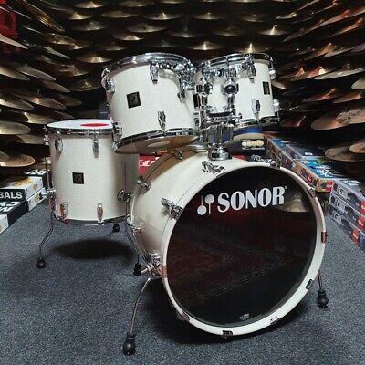 Sonor 3003 Maple Drum Kit White Sparkle USED! RKSK120320