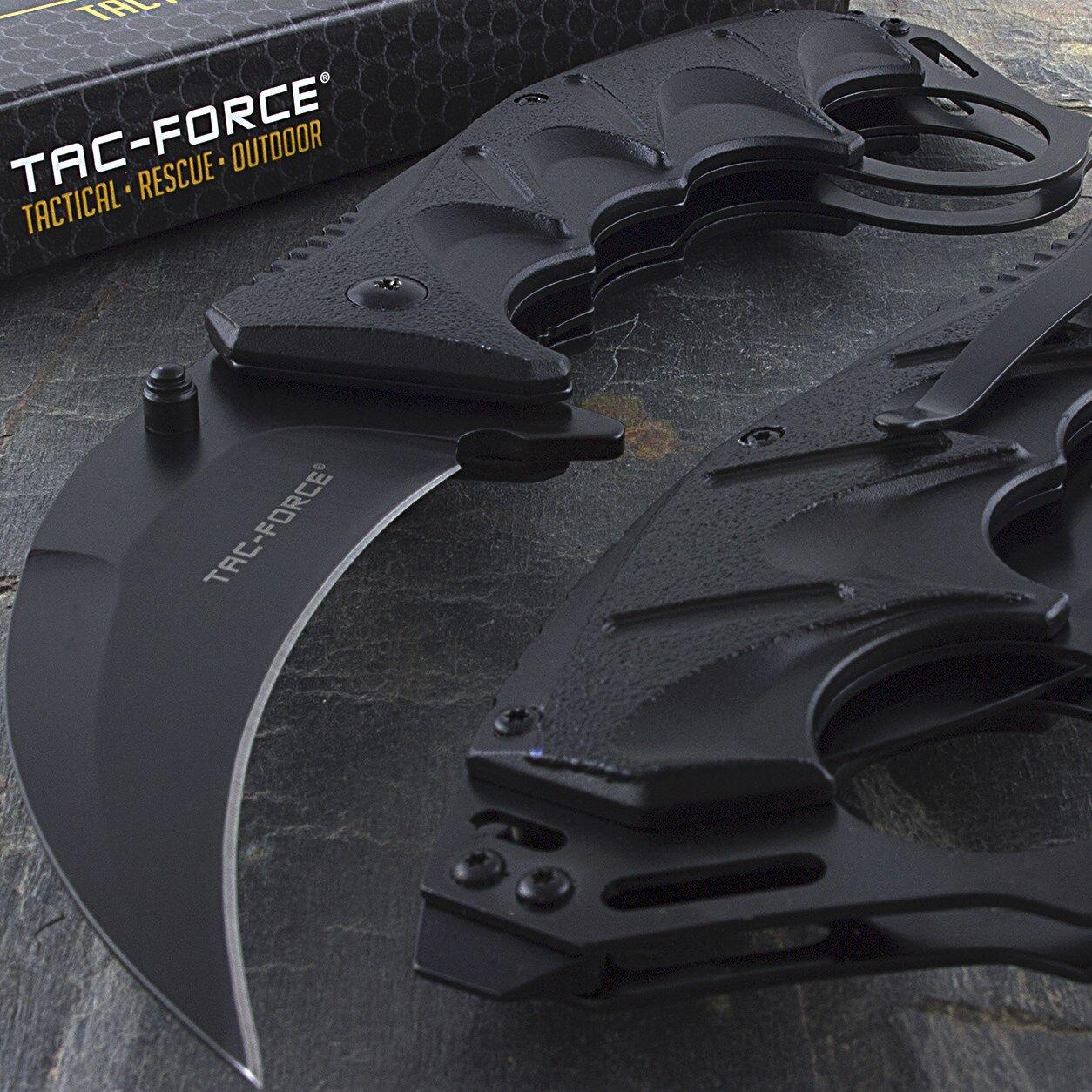 "8"" TAC FORCE KARAMBIT SPRING ASSISTED FOLDING TACTICAL POCKET KNIFE Combat"