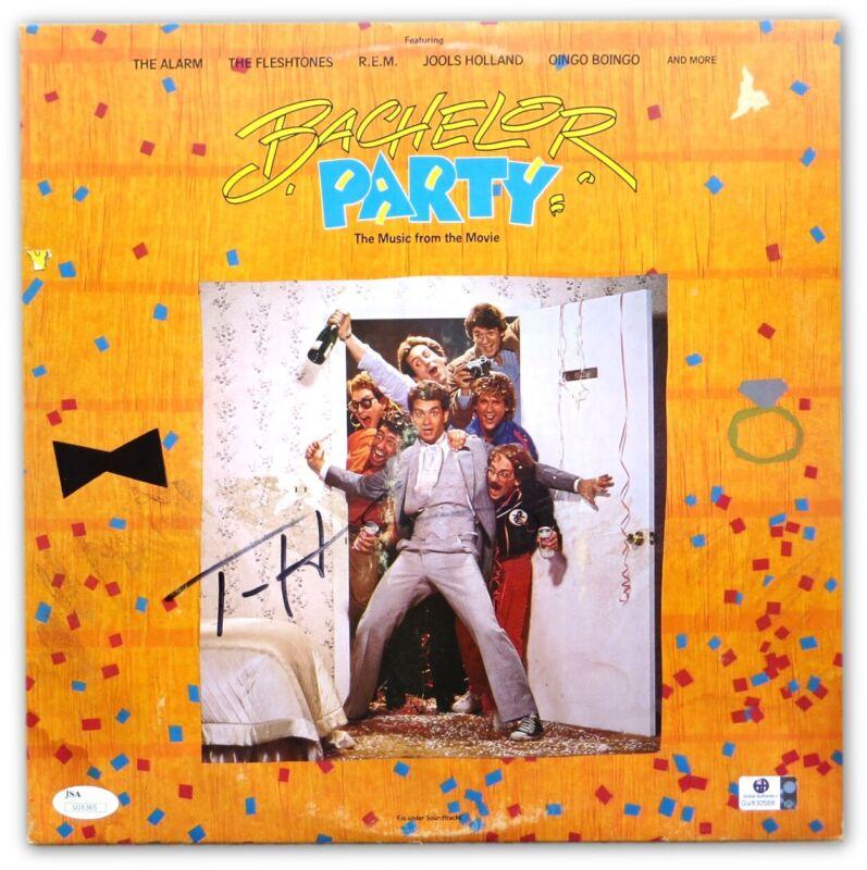 Tom Hanks Signed Autographed Laserdisc Cover Bachelor Party (No Disc) JSA U16365