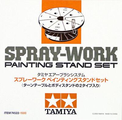 Tamiya 74522 SPRAY-WORK PAINTING STAND SET