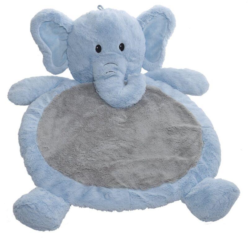Mary Meyer Bestever Baby Mat, Elephant Blue