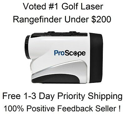 2016 Lofthouse ProScope 400 Golf Laser Rangefinder Pinseeker Edition Pro Scope