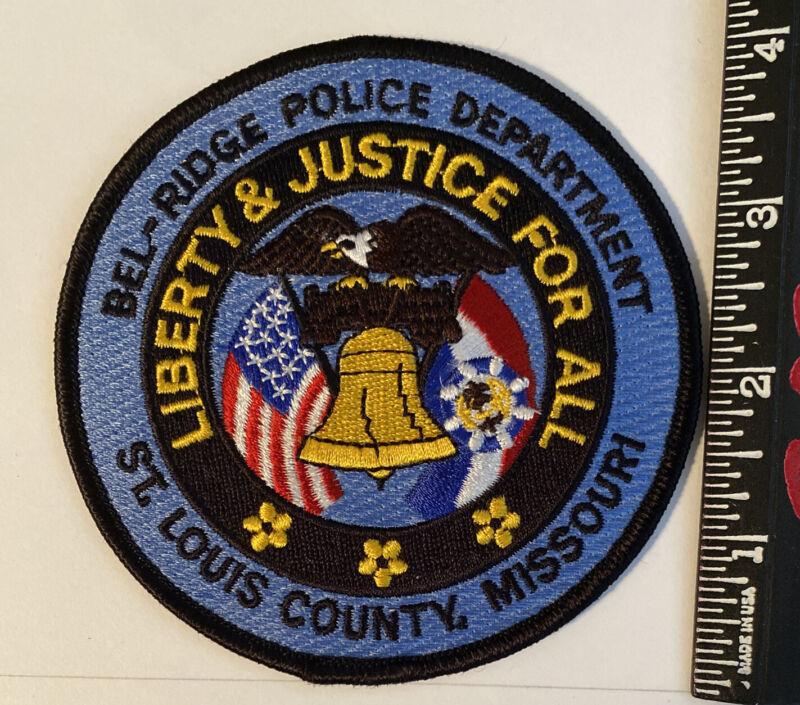 Bel-Ridge Missouri Police Patch