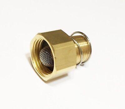 Pressure Washer Adapter Coupler W Filter Screen 34 Garden Hose X 12 Npt