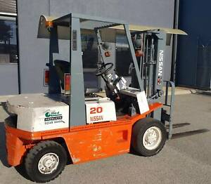 2000kg Nissan petrol forklift with auto transmission and 3m lift Malaga Swan Area Preview