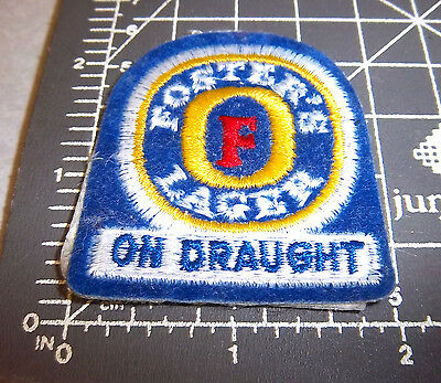 Fosters Beer logo, NEW Embroidered Patch, great collectible