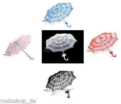 Kostüme Sonnenschirm (Sonnenschirm  Dekoschirm Kostüm durchsichtig mit Spitze)
