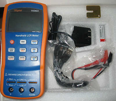 Handheld Lcr Inductance Capacitance Qzdr Esr Deg Meter Tester 1khz Usb Th2822