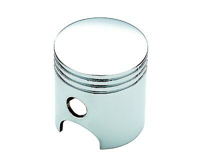 Mr. Gasket 9625 Chrome Plated Piston Style Gear Die Cast Shift Shifter Knob  ()