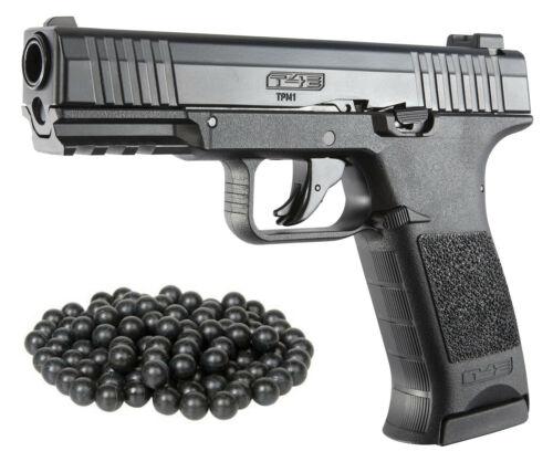T4E TPM1 M2 Black .43cal Co2 BlowBack Paintball Pistol W/ 50 free Rubber Balls
