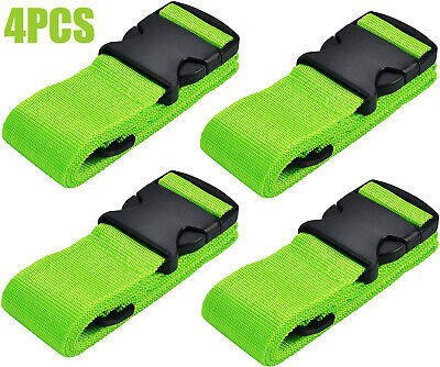 4x Luggage Straps Suitcase Straps Travel Belts fit for 16