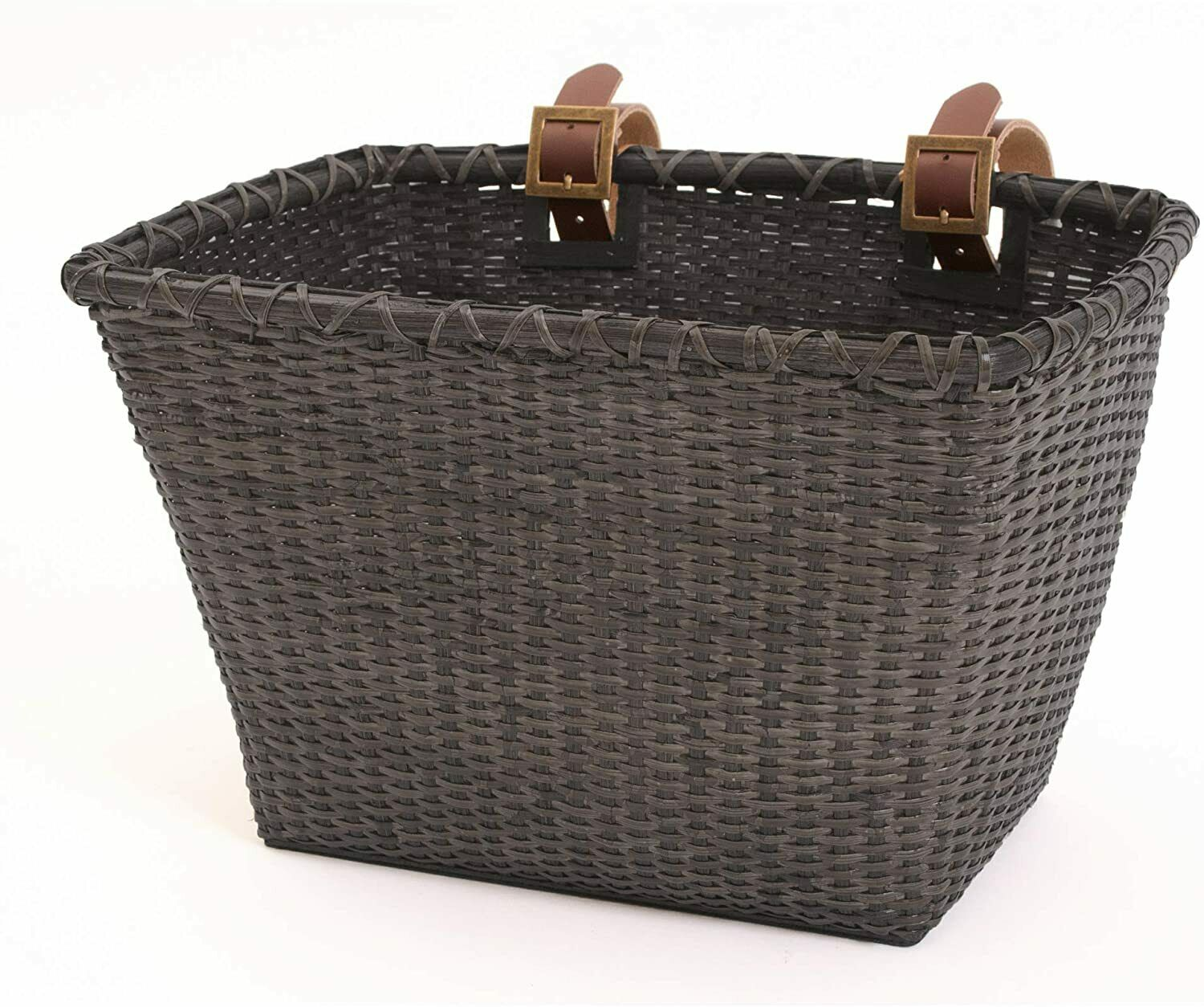 Vintage Front Wicker Basket For Bicycle Pet Storage Handlebar Bike Carrier (New - 99.19 USD)